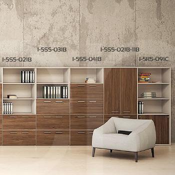 Libreros y archiveros para oficina muebles de oficina for Libreros minimalistas para oficina