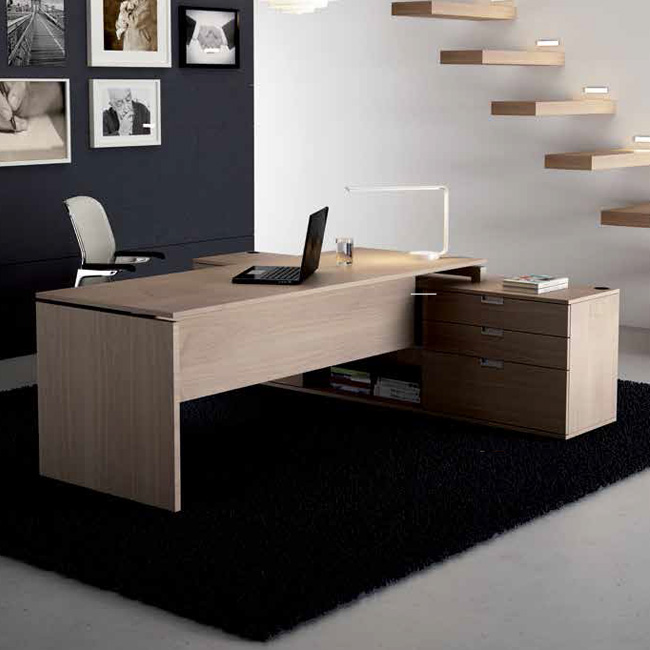 Escritorio con costados tec muebles de oficina for Escritorio oficina