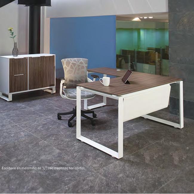 Escritorio de oficina axio muebles de oficina for Escritorios y sillas para oficina