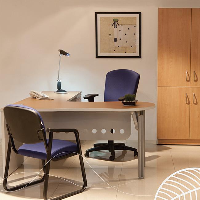 Escritorio de oficina evo1 muebles de oficina for Muebles de oficina silieri koncept