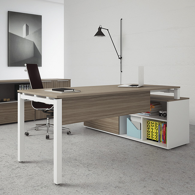Escritorio de oficina mitos muebles de oficina for Proveedores de escritorios para oficina