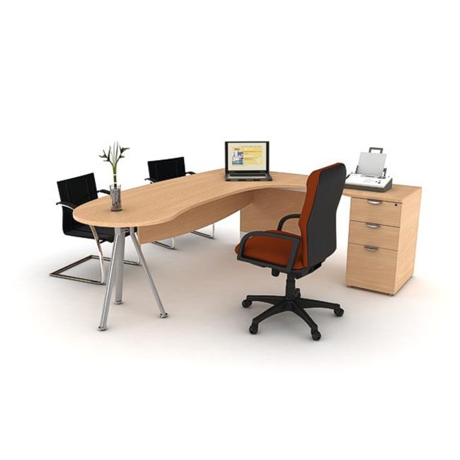 Escritorio de oficina motion muebles de oficina for Escritorios y sillas para oficina