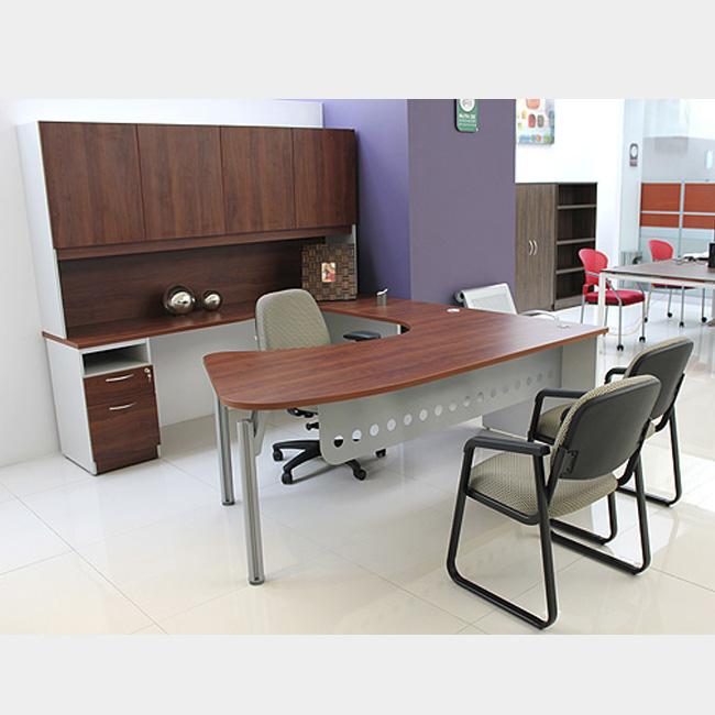 Escritorio ejecutivo evo muebles de oficina escritorios for Muebles de oficina silieri koncept