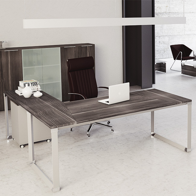 Escritorio ejecutivo saeta muebles de oficina for Catalogo muebles oficina