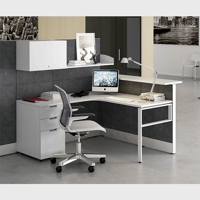 Escritorio modular tec60 5 muebles de oficina for Escritorio modular
