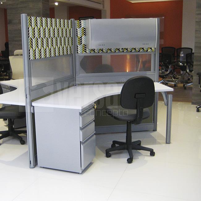 Venta de escritorios modulares en quer taro escritorio for Escritorio modular