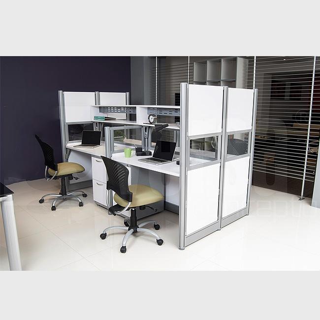 escritorio modular v4 3 muebles de oficina escritorios