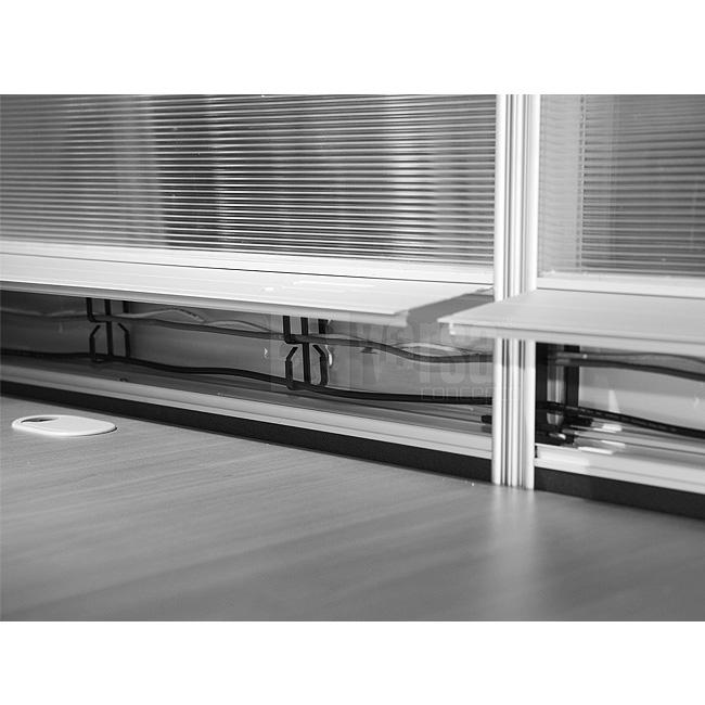 Escritorio modular v60 3 muebles de oficina escritorios for Escritorio modular