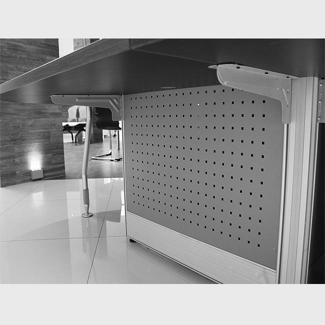 Escritorio modular v60 4 muebles de oficina escritorios for Escritorio modular