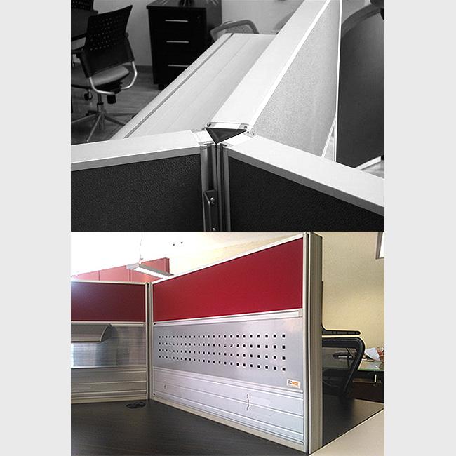 Escritorio modular v60 5 muebles de oficina escritorios for Escritorio modular