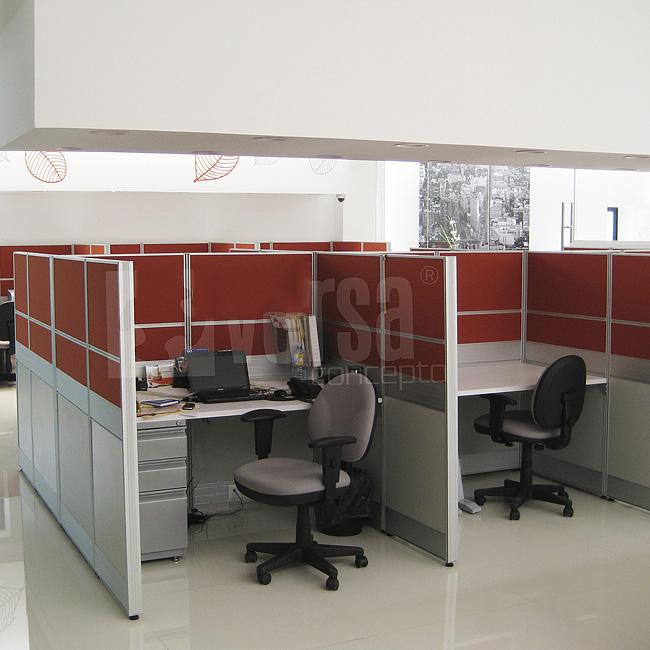 Escritorios modulares en san luis potos escritorio for Rochel muebles de oficina