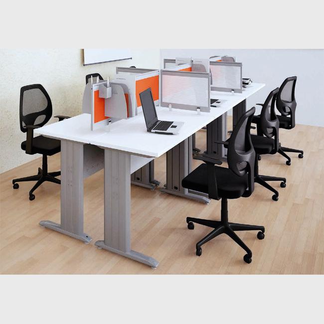 Mesa de trabajo g18 muebles de oficina escritorios for Diseno mesa de trabajo