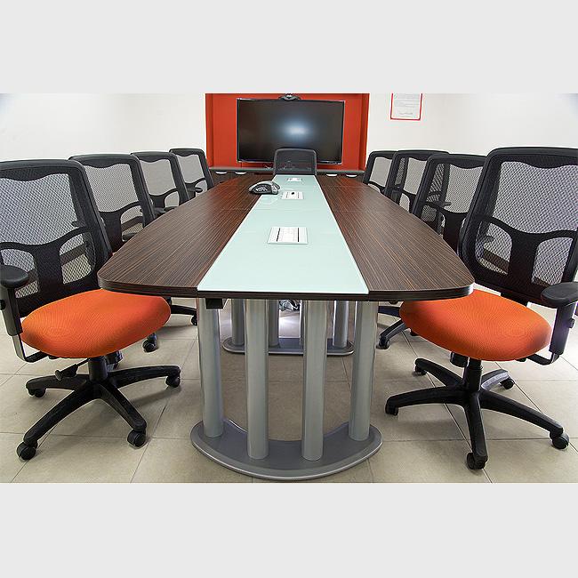 mesa de juntas haken basic muebles de oficina