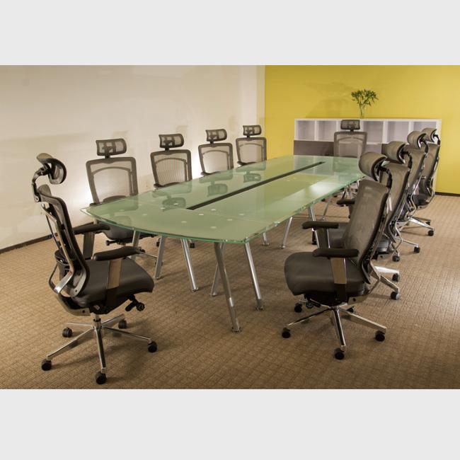 Mesas para salas de juntas en m xico quer taro l on for Muebles de oficina haken