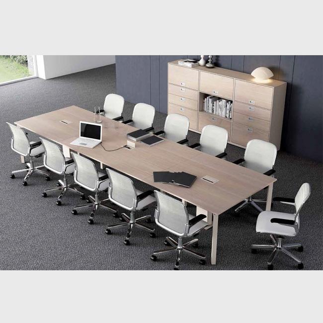 Mesa de juntas tec muebles de oficina escritorios for Mesas y sillas de oficina