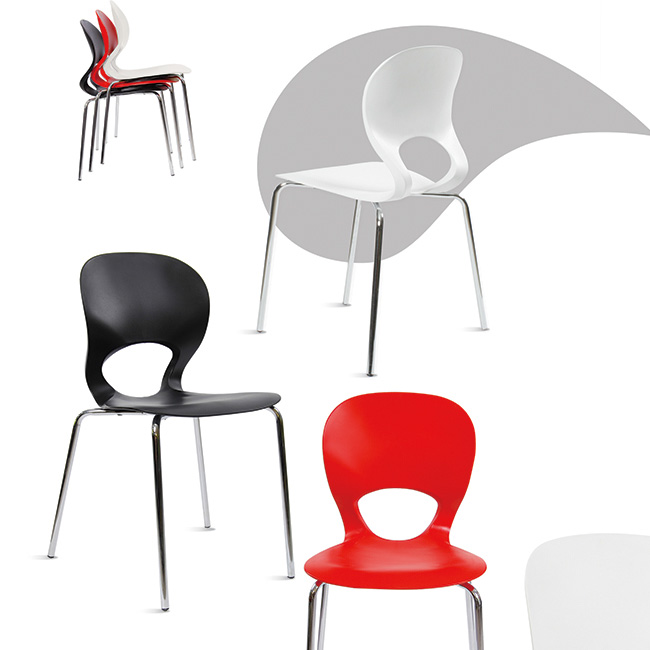 Silla silueta muebles de oficina escritorios ejecutivos for Muebles de oficina silieri koncept