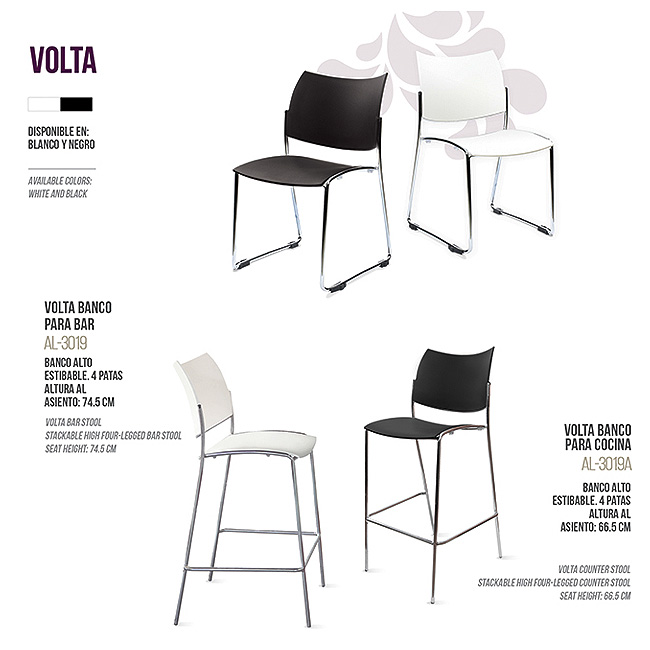 Silla Volta - Muebles de oficina, escritorios ejecutivos, sillas ...