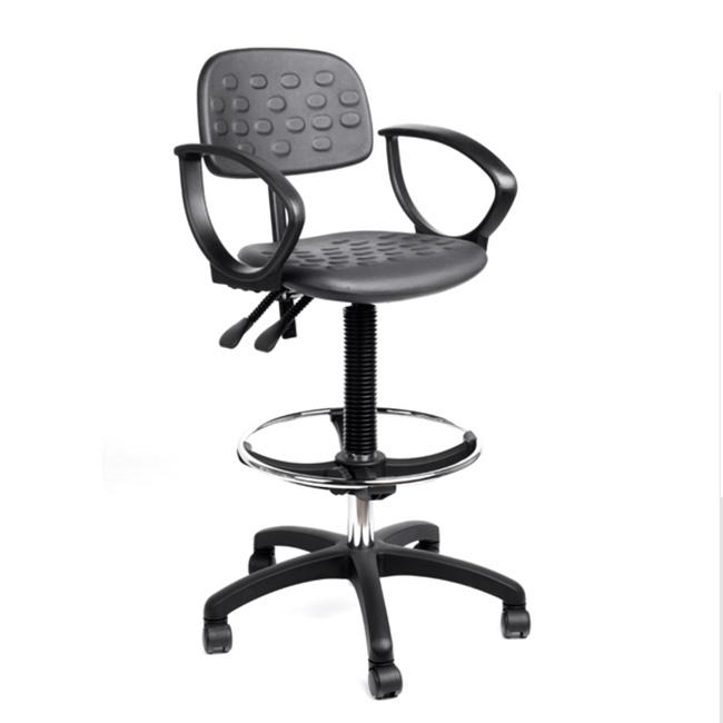 Bancos y sillas giratorias para laboratorios y centros de - Silla oficina alta ...