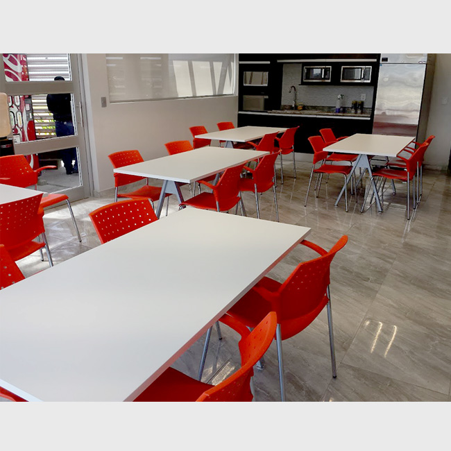 Mesas de comedor para oficinas for Comedor para oficina