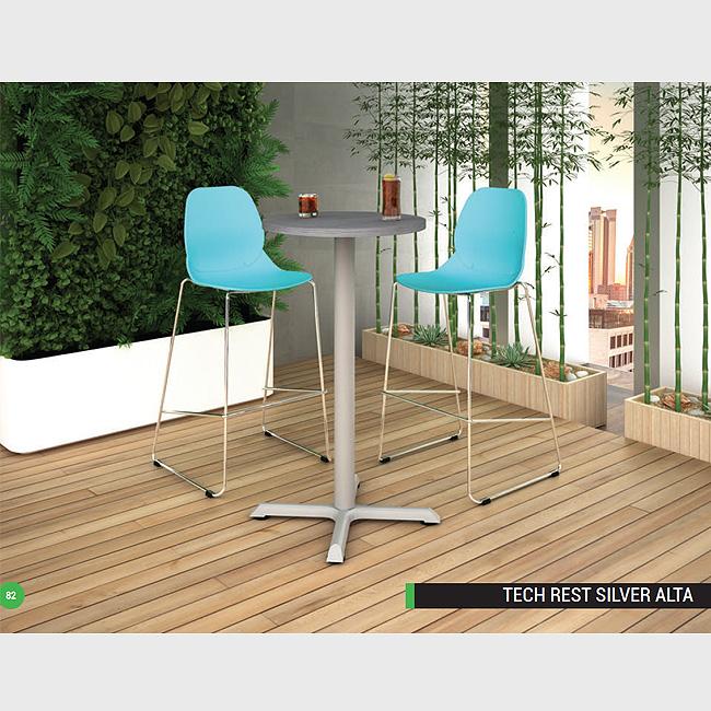 Mesa para comedor tech s alta
