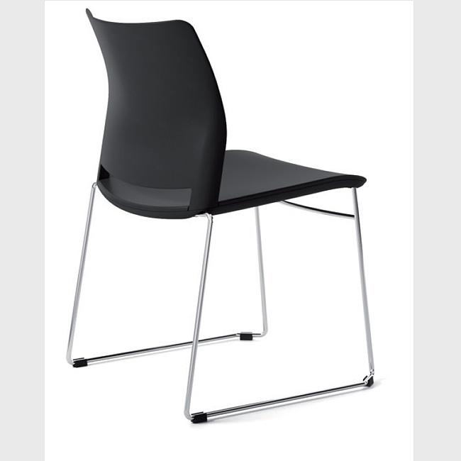 Silla de visita alpha muebles de oficina escritorios for Silla para visitas oficina