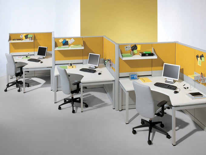Muebles modulares para oficina for Decoracion de oficinas creativas