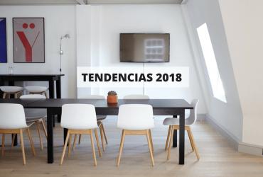 Nuevas tendencias en muebles para el 2018