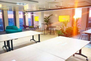 Una oficina con un espacio excelente incrementa la productividad hasta un 49%