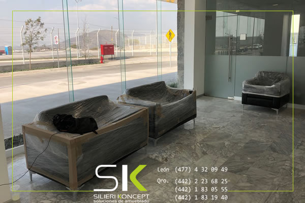 Asesoría, diseño, venta e instalación de muebles de oficina en Hivo Qro