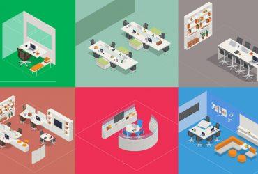 Cómo diseñar oficinas cómodas y eficientes