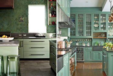 ¿Por qué optar por el color verde en tu cocina?