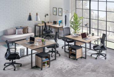 Tendencias en mesas de oficina y mobiliario